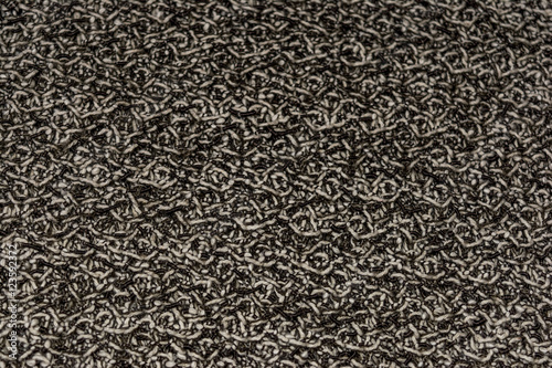 Fotografija  The texture of brown leather fabric from artificial wool.