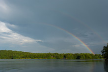 Lake Jocassee With A Double Ra...