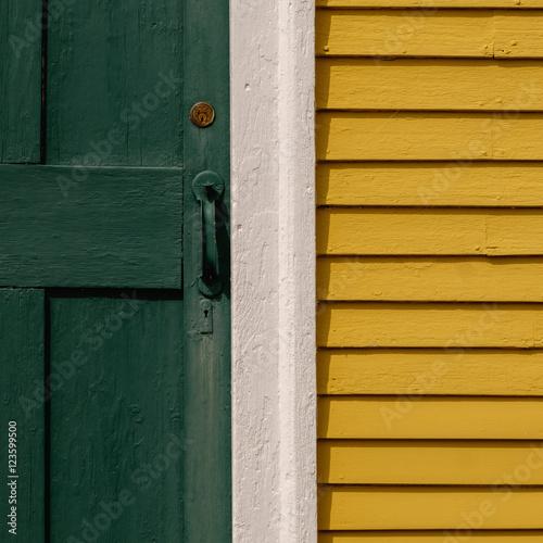Fotografie, Obraz  Parsonage Back Door