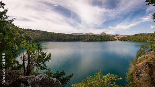 Lac Pavin Fototapeta