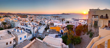 View Of The Old Town Of Naxos ...