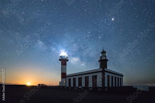 Fotografia  Amanecer lunar