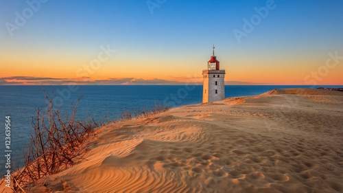 Canvas Prints Lighthouse Leuchtturm von Rubjerg Knude