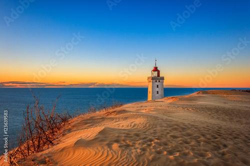 Garden Poster Lighthouse Leuchtturm von Rubjerg Knude