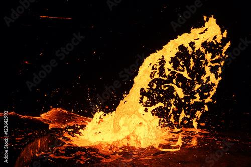 Eruption of Volcano Erta Ale, Ethiopia