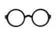 Leinwanddruck Bild - circle glasses isolated