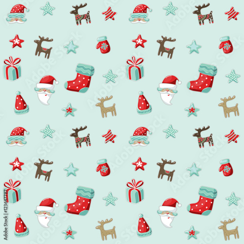 Cotton fabric NY_Christmas