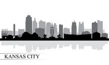Kansas City Skyline Silhouette...