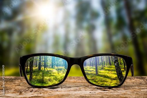 Stampa su Tela Glasses concepts.