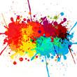 abstract splatter color design background. illustration vector d