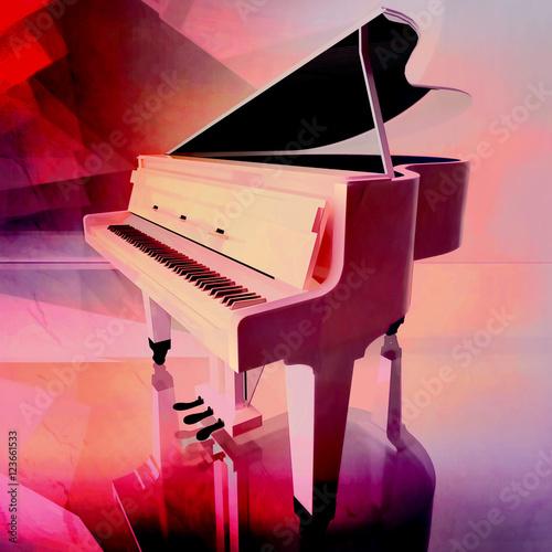 pianino-na-rozowym-tle