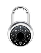 Realistic Combination Lock Ill...