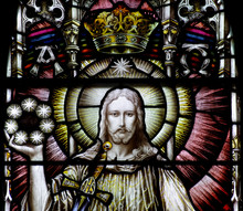 Jesus Christ In Stained Glass ...