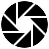 Membrana jak okrągły symbol fotografii, technologii, genu - 123678510