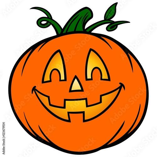 Fotografie, Obraz  Halloween Pumpkin