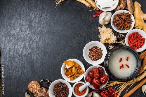 漢方 薬膳 健康食 Chinese medicine and ginseng