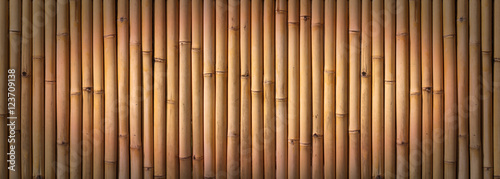 In de dag Bamboo Bamboo fence