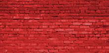 Red Brick Wall Background, Brick Texture, Brick Pattern