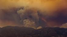 Santa Clarita Sand Fire 2016 Smoke Timelapse
