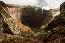Crater Of Dormant Vesuvius Vol...