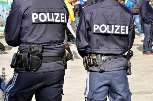 Foto op Plexiglas Alpinisme Polizei