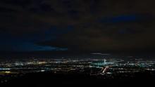 San Fernando Valley Near Los Angeles, California At Dusk Timelapse