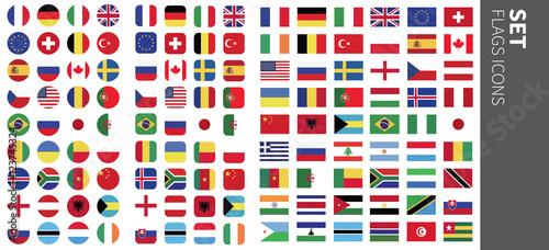 drapeaux Canvas-taulu