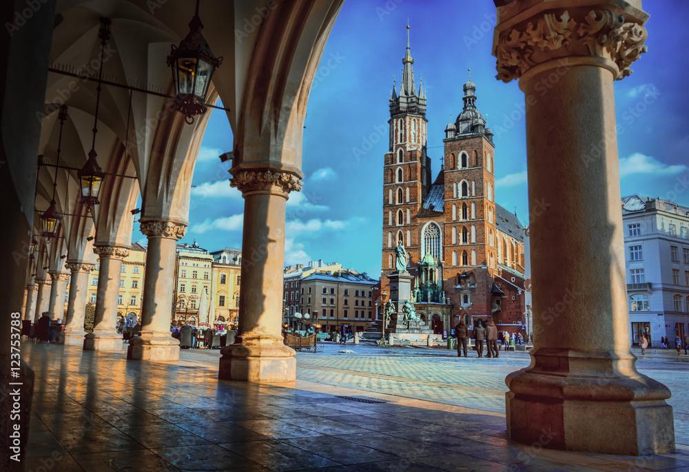 Fototapety, obrazy: Cracow / Krakow in Poland , Europe