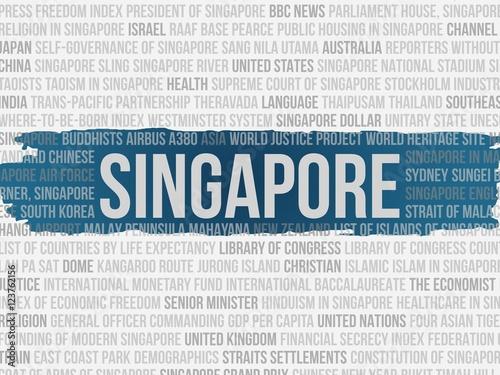 Fotografia, Obraz  singapore