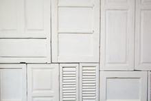 White Window, Door Texture Background