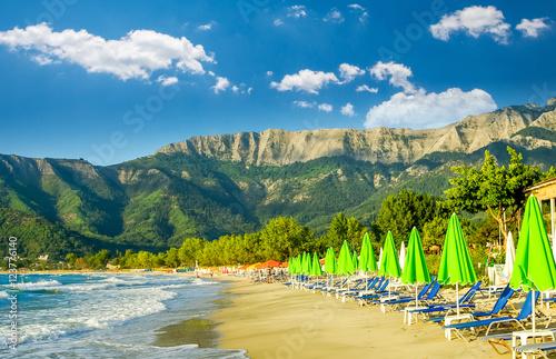 Photo  Psili Ammos beach, Thassos island, Greece