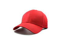 Closeup Of The Fashion Red Cap...