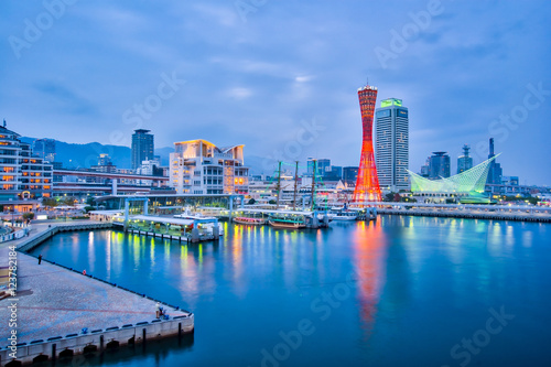 Photo sur Aluminium Japon Port of Kobe in Japan