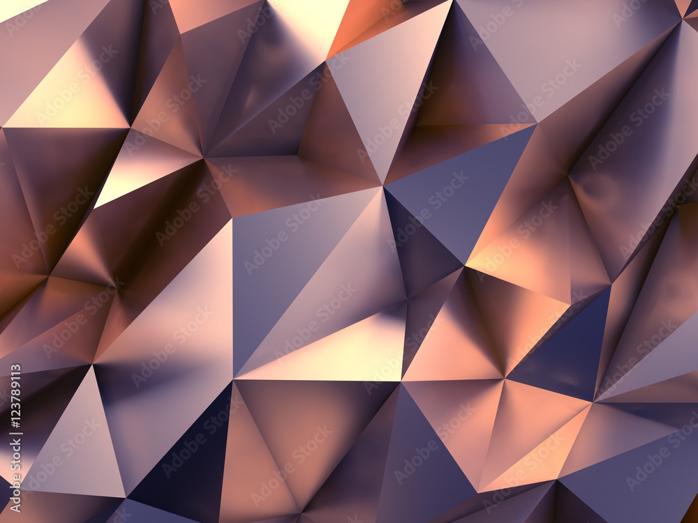 Fototapeta Fashion Abstract Background 3D Rendering