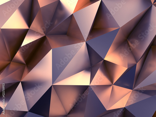 Fashion Abstract Background 3D Rendering