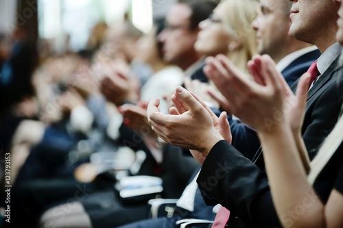 Fotomural klatschende Hände, klatschen, Beifall, Applaus
