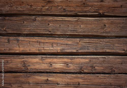 Fotografie, Obraz  Mur en bois - Wood wall