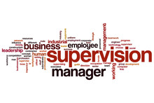 Supervision Word Cloud