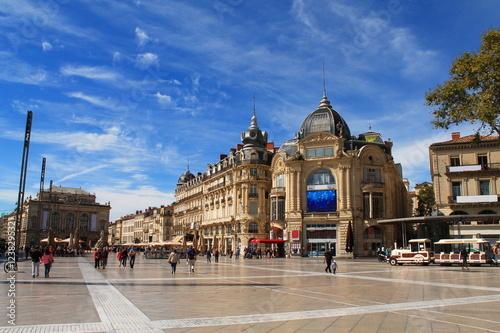 Photo Place de la comédie à Montpellier, France