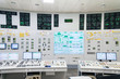 The control room of nuclear power plant.