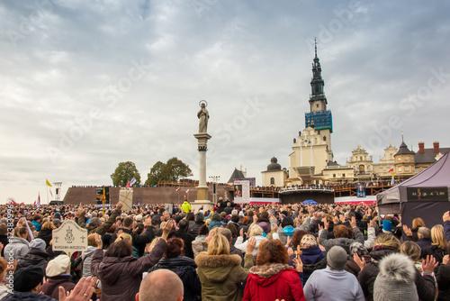 Fotografía Czestochowa, Poland - October 15, 2016: United Atonement, all-da