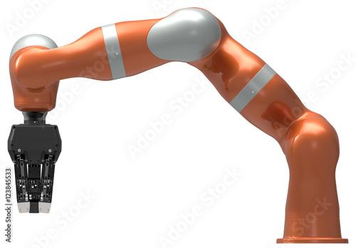 Valokuva  Industrial robot manipulator