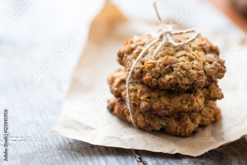Biscuit Homemade oatmeal cookie