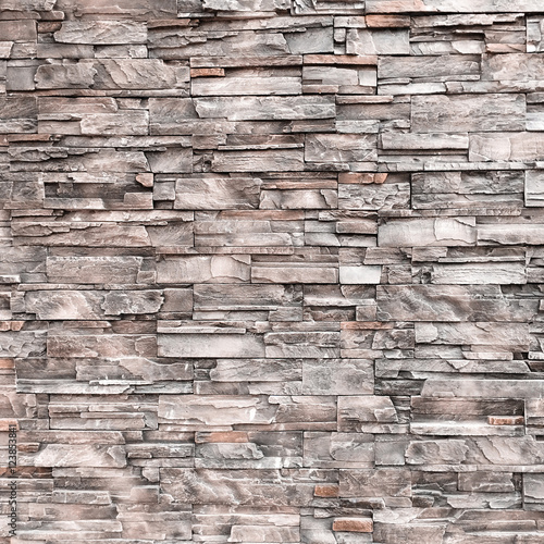 Stone Wall Background Texture Vintage Old Pattern Abstract Design Brick Interior Wallpaper Wall Mural Patita88