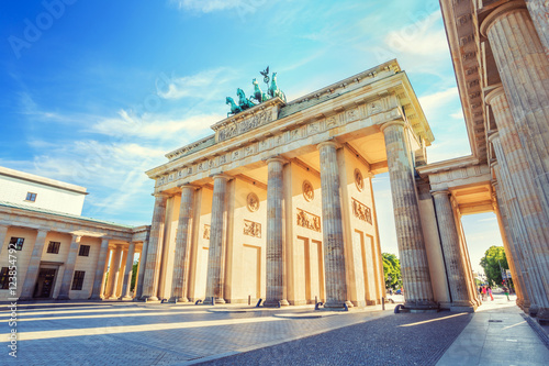 Berlin Brandenburg Gate, Berlin, Germany Canvas Print