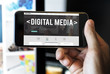 Web Design Digital Media Layout Homepage Page Concept