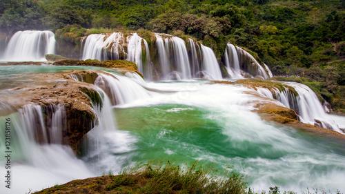 Bangioc waterfall in Caobang, Vietnam © sonha
