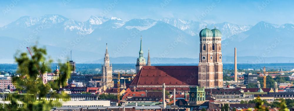 Fototapeta München Panorama
