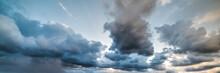 Dramatic Sky At Dusk