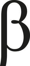 Greek Beta Sign